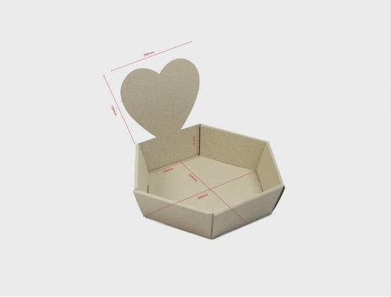 Geschenkkorb Herz Medium
