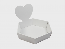 Geschenkkorb Herz Large