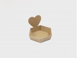 Geschenkkorb Herz Small